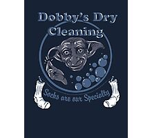 Dobby's Dry Cleaning- Harry Potter Photographic Print