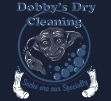Dobby's Dry Cleaning- Harry Potter Baby Tee