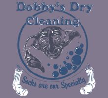 Dobby's Dry Cleaning- Harry Potter Kids Tee