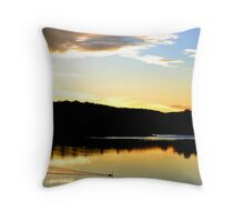 Black Swan on the Manning Throw Pillow