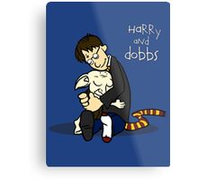 Harry and Dobbs- Harry Potter  Metal Print