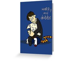 Harry and Dobbs- Harry Potter  Greeting Card