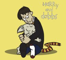 Harry and Dobbs- Harry Potter  Kids Tee