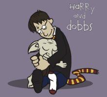 Harry and Dobbs- Harry Potter  Kids Tee