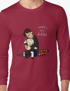 Harry and Dobbs- Harry Potter  Long Sleeve T-Shirt