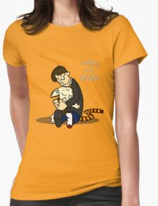 Harry and Dobbs- Harry Potter  Womens Fitted T-Shirt