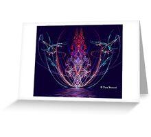Apophysis Reflection 1 Greeting Card