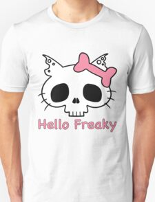 Hello Freaky Pink Unisex T-Shirt