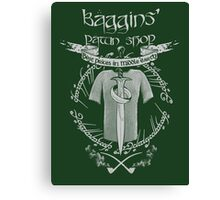 Baggins' Pawn Shop Canvas Print