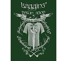 Baggins' Pawn Shop Photographic Print