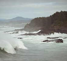 Crashing Waves by awanderingsoul