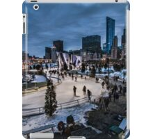 Chicago's Ice Ribbon at dusk iPad Case/Skin