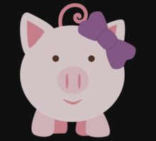 Cute Girl Pig Kids Clothes