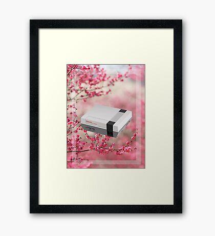 Cherry Blossom NES Framed Print