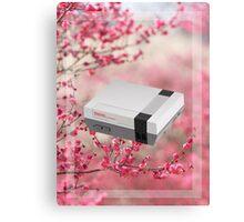 Cherry Blossom NES Canvas Print