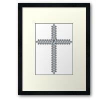 Heart of the Cross Framed Print