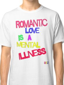 Romantic Love Classic T-Shirt
