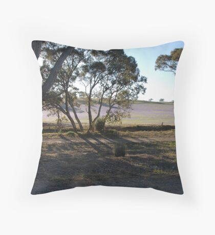 Pattersons Curse Throw Pillow