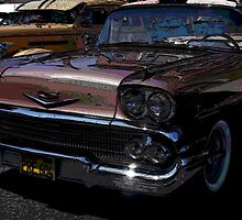 1956 Chevy; Historical Front Street Car Show; Norwalk, CA USA by leih2008