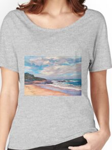 'Footsteps' Women's Relaxed Fit T-Shirt