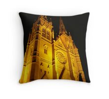 St Mary's Cathedral Throw Pillow