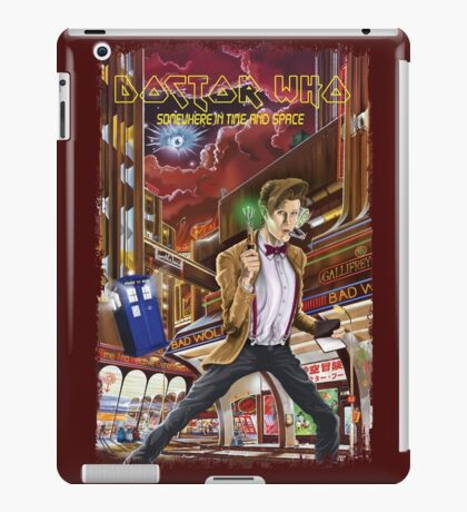 Somewhere in Time and Space iPad Case/Skin