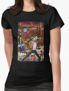 Somewhere in Time and Space Womens Fitted T-Shirt