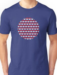 Pokeballs Repeating Shirt Unisex T-Shirt