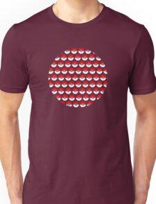 Pokeballs Repeating Shirt Unisex T-Shirt