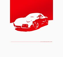Porsche Cayman S - Guards Red on White Unisex T-Shirt