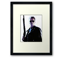 Terminator Arnold Schwarzenegger Framed Print