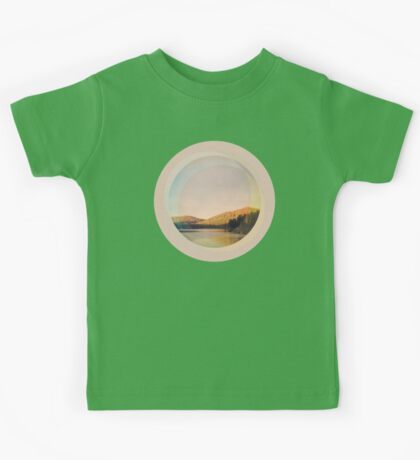 Digital Landscape #4 Kids Tee