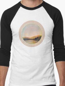 Digital Landscape #4 Men's Baseball ¾ T-Shirt