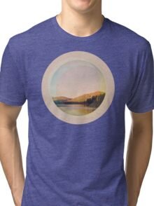 Digital Landscape #4 Tri-blend T-Shirt