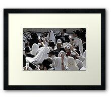 Photography = reality? Framed Print