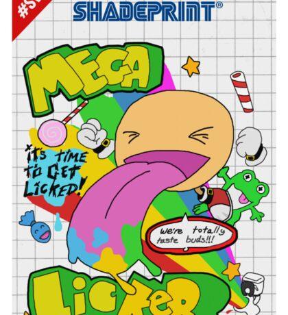 Mega Licker! [Cartridge Sleeve Art Work]. Sticker