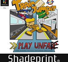 Train Jumper. (Jewel Case Sleeve) [FRONT]. by shadeprint