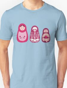 Inside out - Russian Matryoshka dolls Unisex T-Shirt