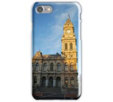 Bendigo's Historical  Post Office, Side View iPhone Case/Skin