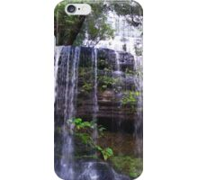 Russell Falls, Mt Field National Park, Tasmania iPhone Case/Skin