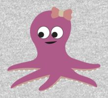Cute Girl Octopus Kids Clothes