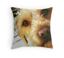 the deep and hungry look Throw Pillow