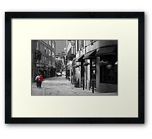 Sisters in Boston Framed Print
