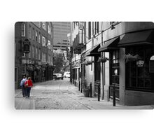 Sisters in Boston Canvas Print