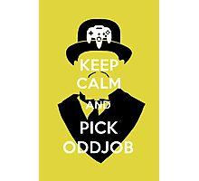 Pick Oddjob Photographic Print