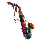 saxophone  by mark ashkenazi