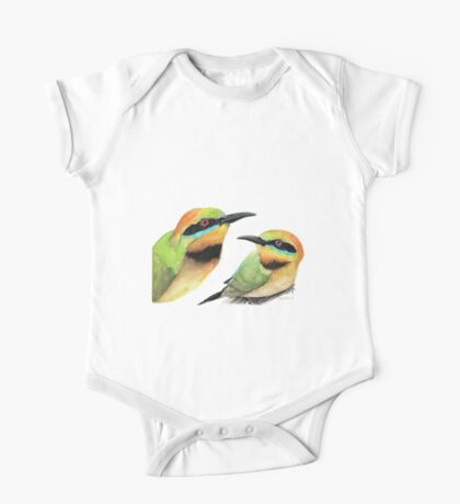 Rainbow Bee-eaters One Piece - Short Sleeve