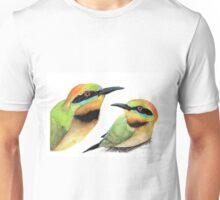 Rainbow Bee-eaters Unisex T-Shirt