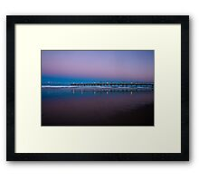 Secret Fishing Spot Framed Print