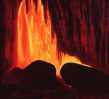Hawaiian Lava Flow by sargus